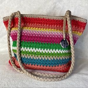 The Sal Original Multicolored Woven Shoulder Bag